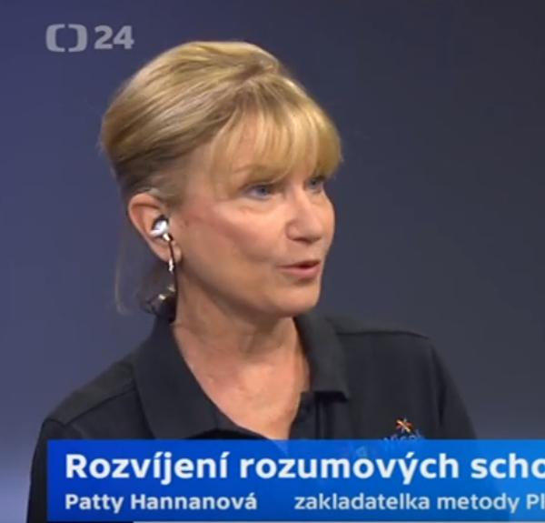 Patty Hannan opět v Praze